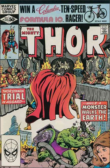 Thor (1966) 313-A by Marvel