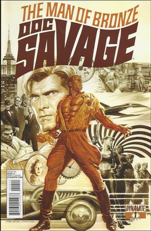Doc Savage (2013) 1-A