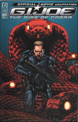 G.I. Joe: Rise Of Cobra Movie Adaptation  4-A by IDW