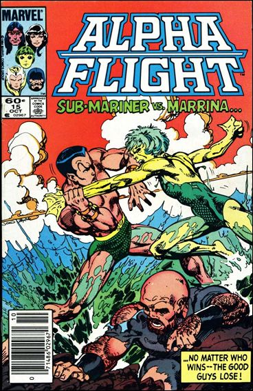 Alpha Flight (1983) 15-A by Marvel