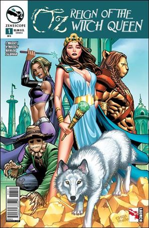 Grimm Fairy Tales Presents Oz: Reign of the Witch Queen 1-A