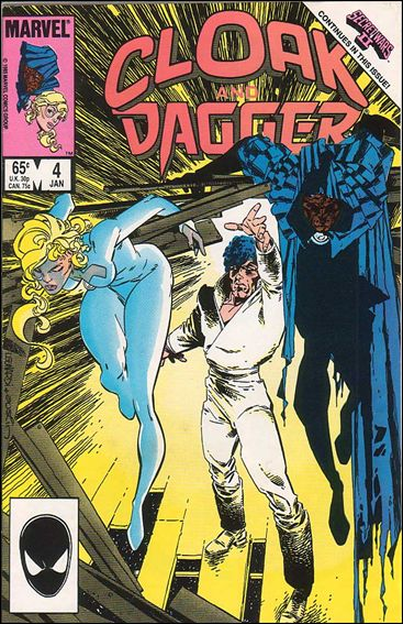 Cloak and Dagger (1985) 4-A by Marvel