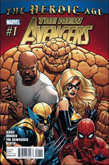 New Avengers (2010) 1-A by Marvel