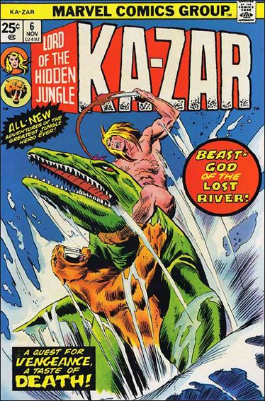 Ka-Zar (1974) 6-A by Marvel