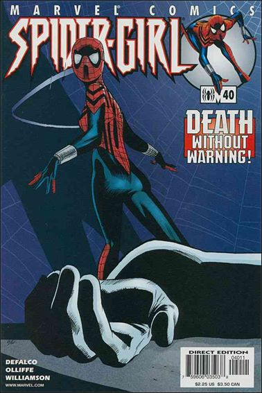 Spider-Girl (1998) 40-A by Marvel