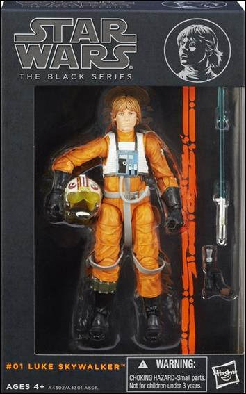 Star Wars: The Black Series (Series 1) Luke Skywalker (Rebel Pilot) by Hasbro