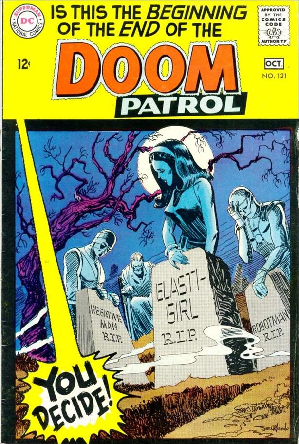 Doom Patrol (1964) 121-A by DC