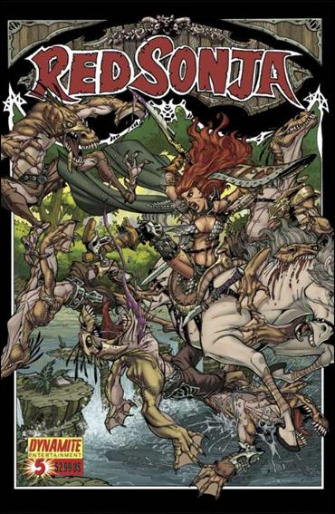 Red Sonja (2005) 5-C by Dynamite Entertainment