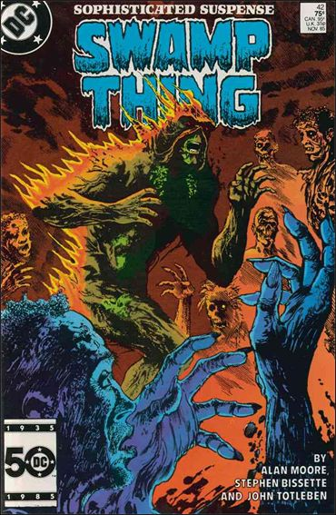 Saga of the Swamp Thing 42-A by DC