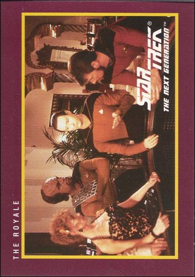 Star Trek 25th Anniversary: Series 1 (Base Set) 72-A by Impel