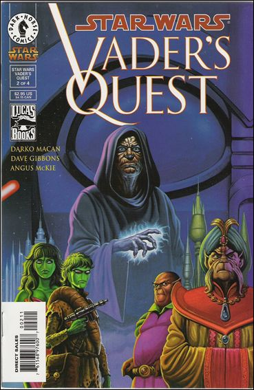 Star Wars: Vader's Quest 2-A by Dark Horse