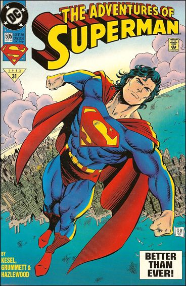 Adventures of Superman (1987) 505-C by DC