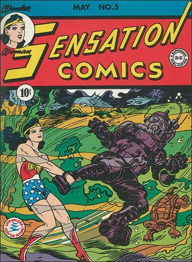 Sensation Comics (1942) 5-A by DC