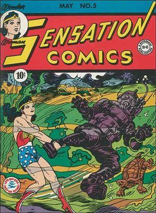 Sensation Comics (1942) 5-A