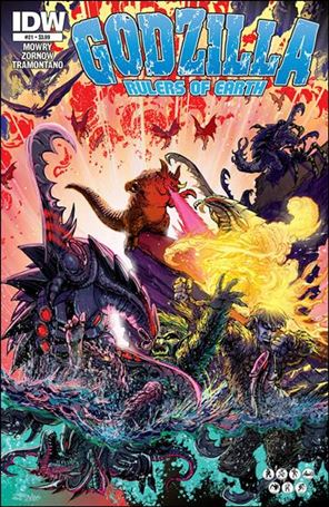 Godzilla: Rulers of the Earth 21-A