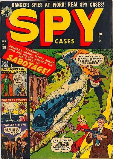 Spy Cases '28'-A by Marvel