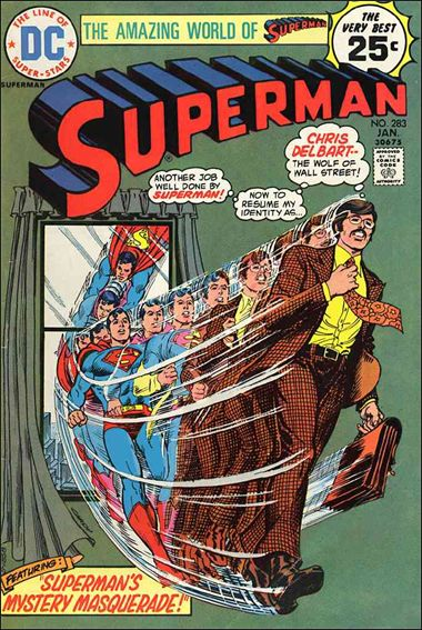 Superman (1939) 283-A by DC