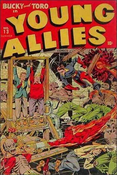 Young Allies Comics 13-A by Marvel