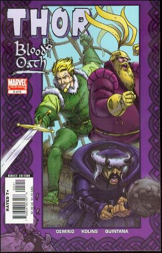 Thor: Blood Oath 5-A by Marvel