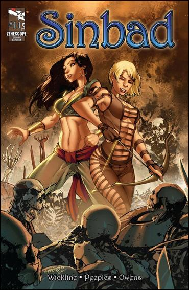 1001 Arabian Nights: The Adventures of Sinbad 11-A by Zenescope Entertainment