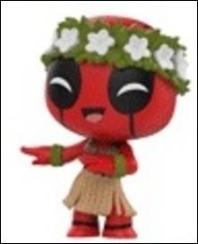 Deadpool Mystery Minis Hula  1/24  (Target Exclusive) by Funko