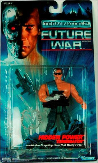 Terminator 2: Future War  Hidden Power Terminator by Kenner