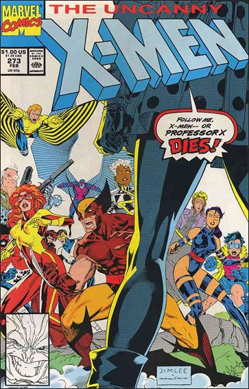 Uncanny X-Men (1981) 273-A by Marvel