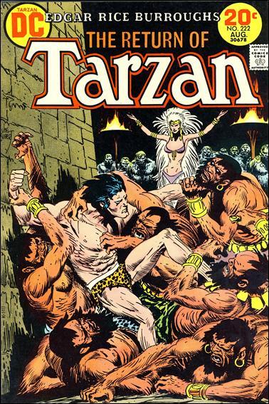 Tarzan (1972) 222-A by DC