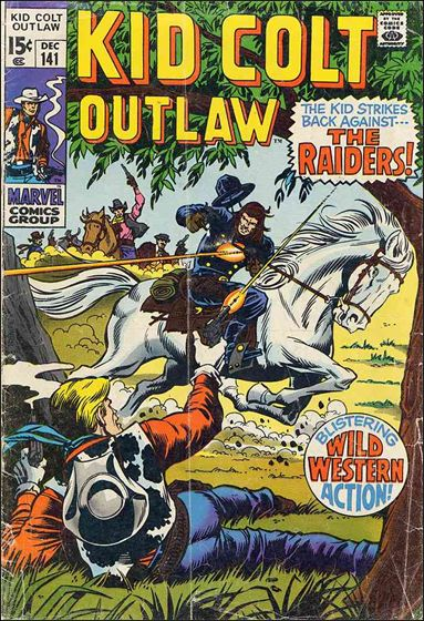 Kid Colt Outlaw  141-A by Marvel