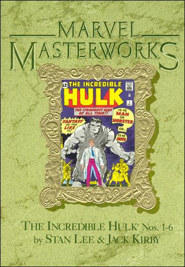 Marvel Masterworks: The Incredible Hulk 1-B by Marvel
