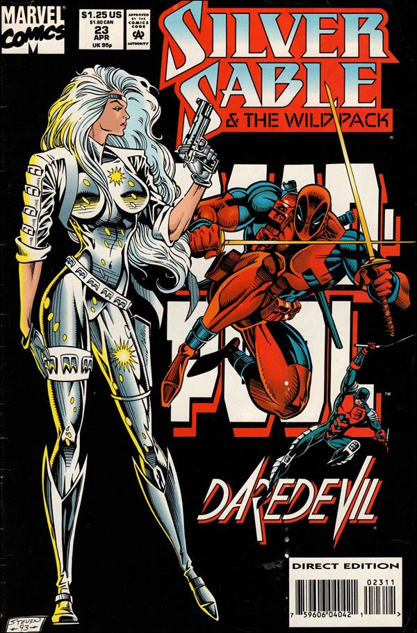 Silver Sable & The Wild Pack 23-A by Marvel