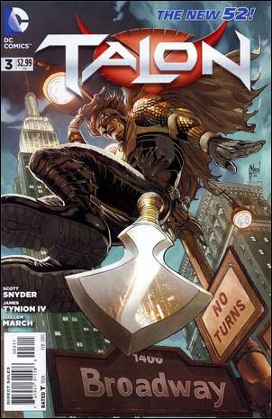 Talon (2012) 3-A by DC