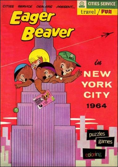 Eager Beaver in New York City 1964 1-A by Cities Service