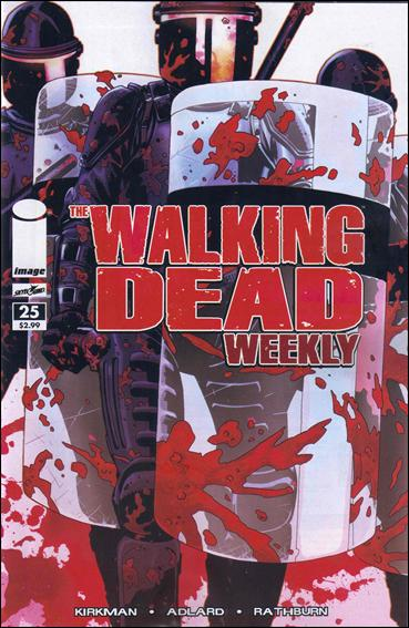 Walking Dead Weekly 25-A by Image