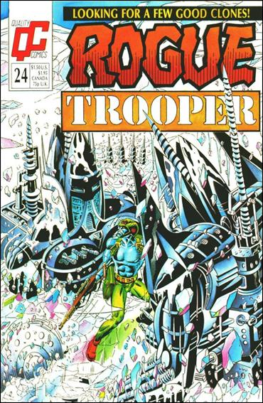 Rogue Trooper (UK) 24-A by Quality Comics