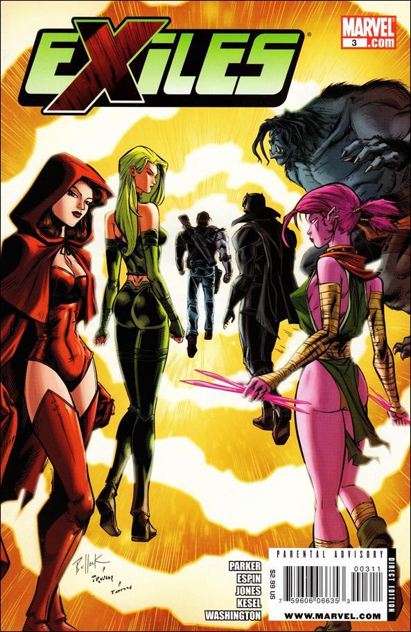 Exiles (2009) 3-A by Marvel