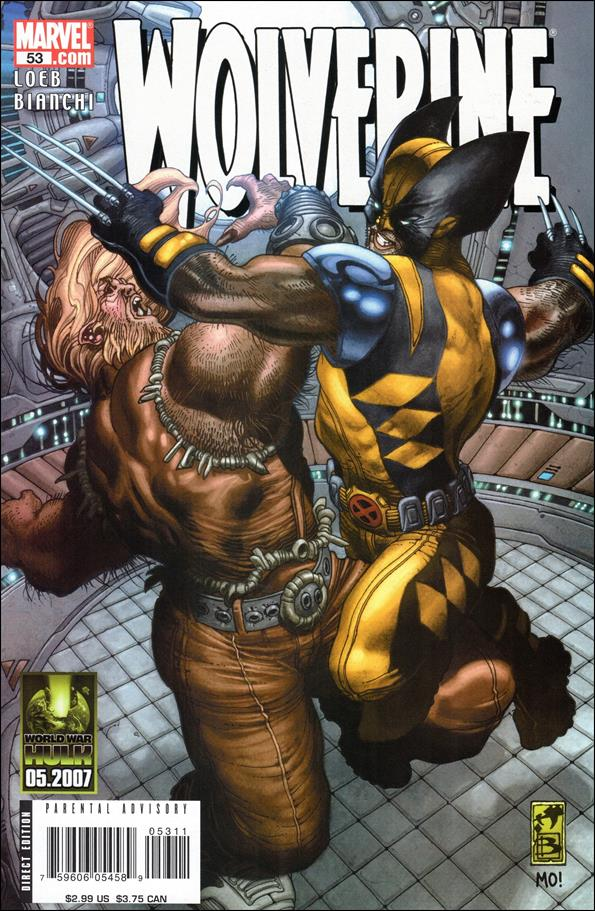 Wolverine (2003)  53-A by Marvel