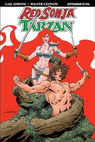 Red Sonja / Tarzan 6-C