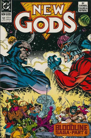 New Gods (1989) 12-A by DC
