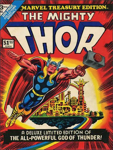 Marvel Treasury Edition 3-A by Marvel