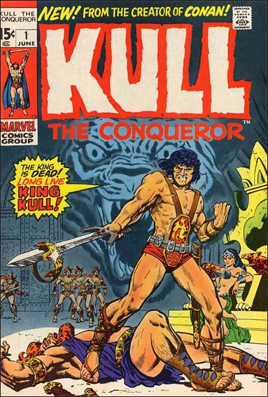 Kull the Conqueror (1971) 1-A by Marvel