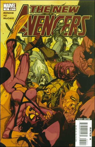 New Avengers (2005) 32-A by Marvel