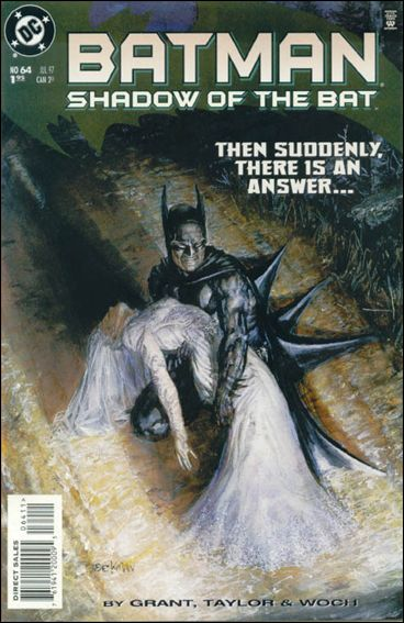 Batman: Shadow of the Bat 64-A by DC