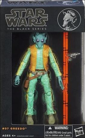 "Star Wars: The Black Series (6"" Figures) Greedo"