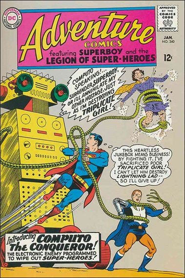 Adventure Comics (1938) 340-A by DC