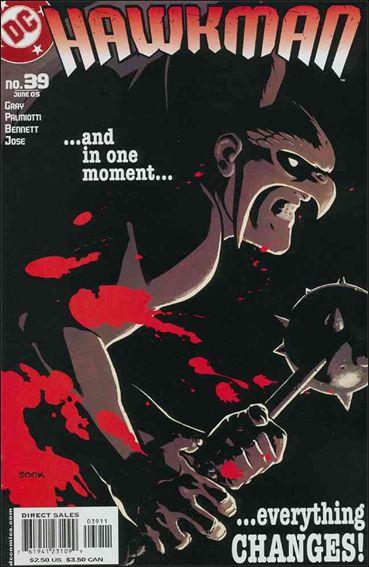 Hawkman (2002) 39-A by DC