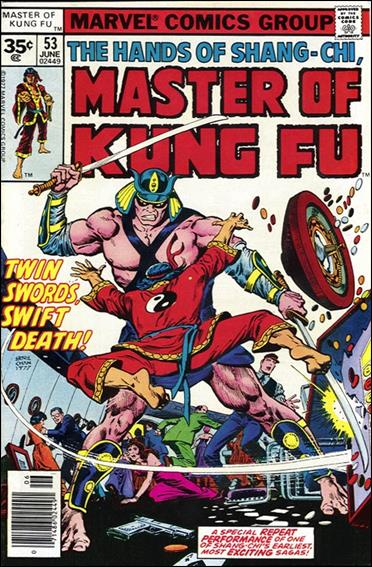 Master of Kung Fu 53-B by Marvel