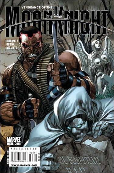 Vengeance of the Moon Knight 3-A by Marvel