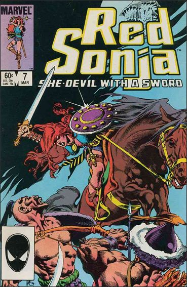 Red Sonja (1983/08) 7-A by Marvel