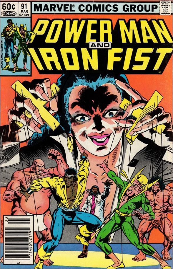 Power Man and Iron Fist (1978) 91-A by Marvel